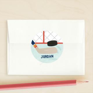 Goalie Custom Stickers