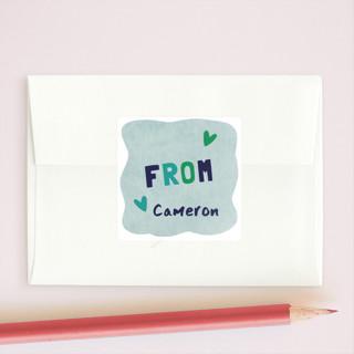 A-Maze-Ing Valentine Custom Stickers