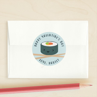 Sushi Love Custom Stickers