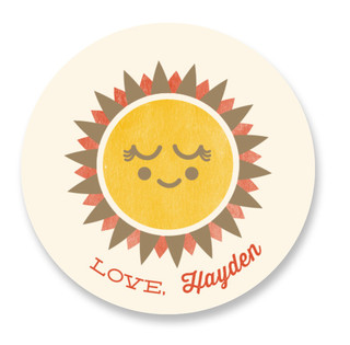Sunshine Love Custom Stickers