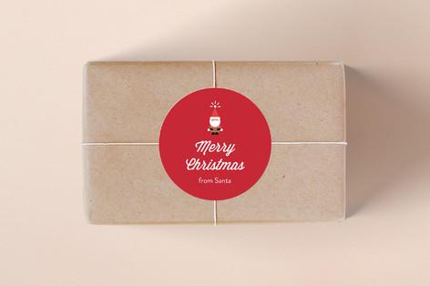 Santa Santa Santa Custom Stickers