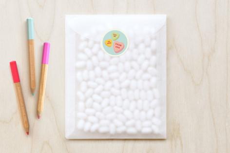 Box Of Candy Custom Stickers