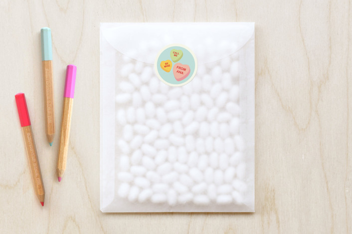 """""""Box Of Candy"""" - Custom Stickers in Frozen by Tami Bohn."""