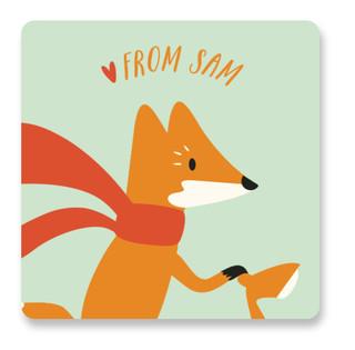 Cheeky Fox Custom Stickers