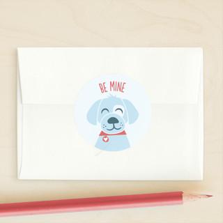 Puppy Hugs Custom Stickers