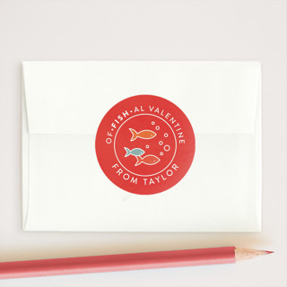 School Of Fish Custom Stickers
