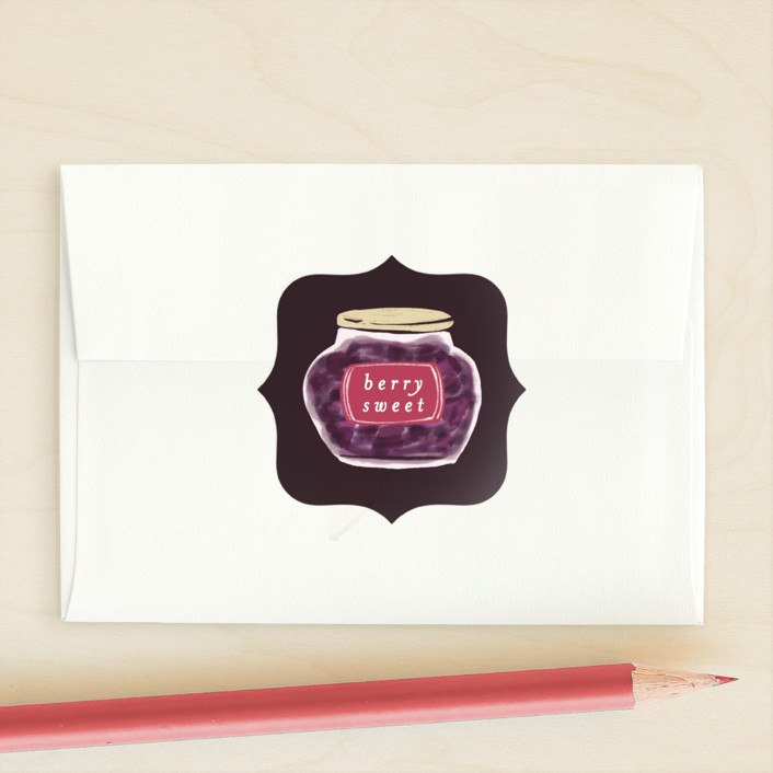 """Youre My Jam"" - Custom Stickers in Grape by Shiny Penny Studio."