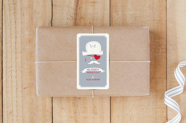 """""""Pirate Heart"""" - Custom Stickers in Heart by Jen."""