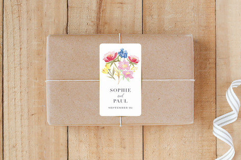 Bouquet Custom Stickers