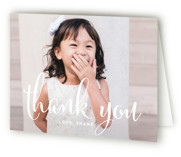 Aglow Childrens Birthday Party Thank You Cards