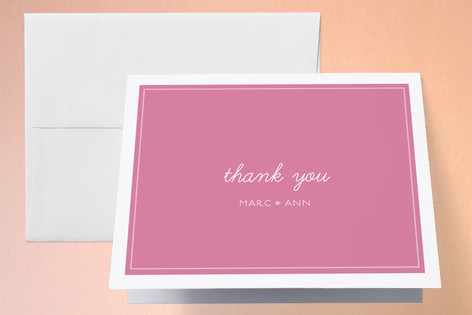 Stripey One Year Old Childrens Birthday Party Thank You Cards