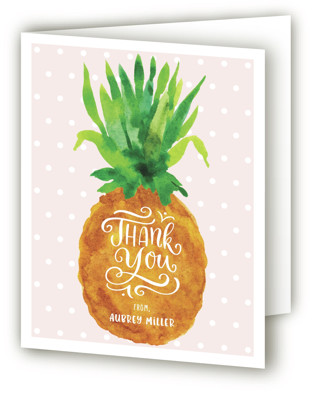 Be A Pineapple Children's Birthday Party Thank You Cards