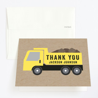 Party Zone Childrens Birthday Party Thank You Cards