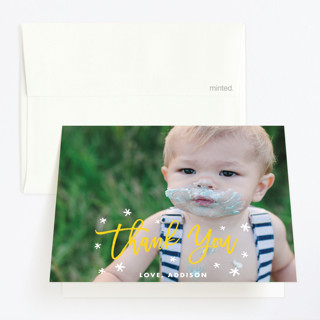 Carefree Childrens Birthday Party Thank You Cards