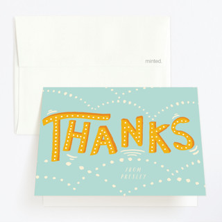 Jump Bound & Leap Childrens Birthday Party Thank You Cards