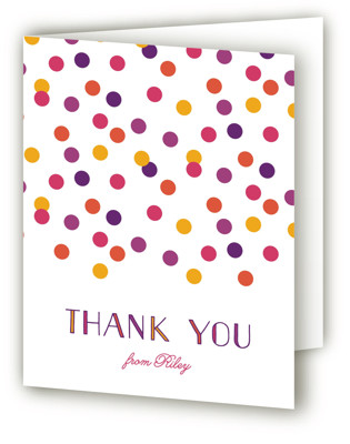 Sweet birthday Children's Birthday Party Thank You Cards