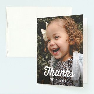 Two Cool Childrens Birthday Party Thank You Cards