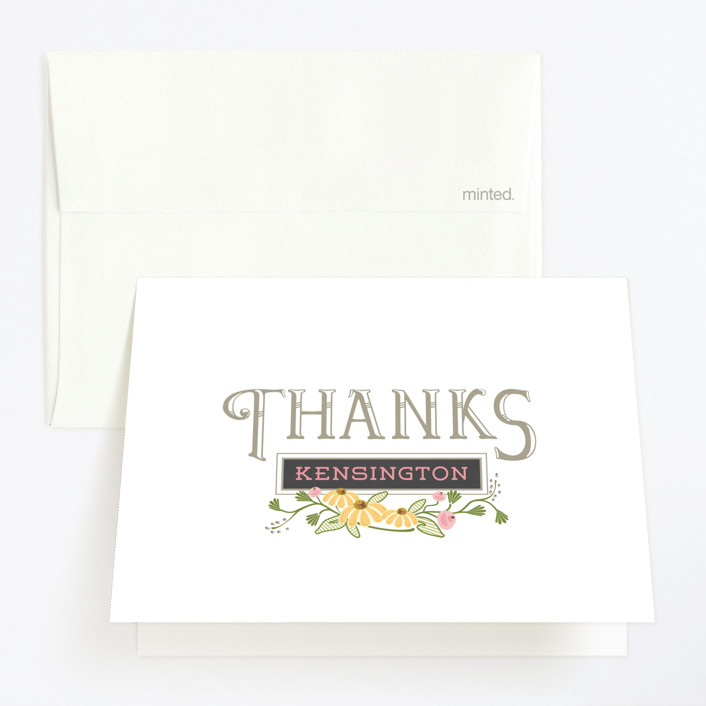 """""""Thee Big One"""" - Childrens Birthday Party Thank You Cards in Chalkboard by CaroleeXpressions."""