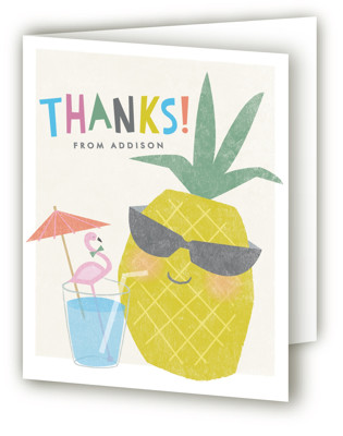 Party like a pineapple Children's Birthday Party Thank You Cards