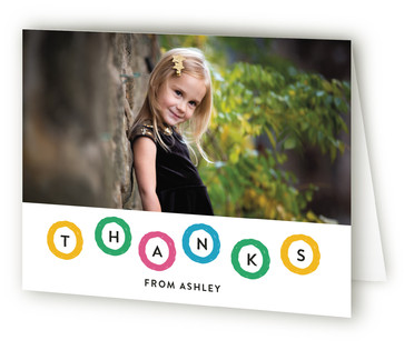 Hip Hip Hoo Ray Children's Birthday Party Thank You Cards