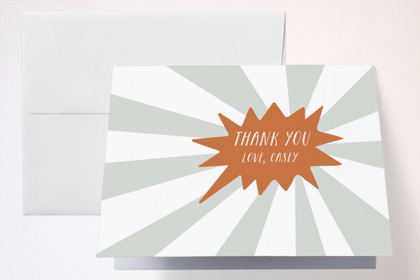 Scout Childrens Birthday Party Thank You Cards
