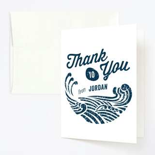 Splish Splash Childrens Birthday Party Thank You Cards