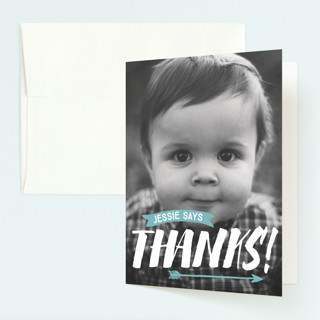 wild Childrens Birthday Party Thank You Cards