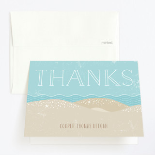 Surfs Up Childrens Birthday Party Thank You Cards