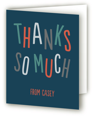 Bounce on Over Children's Birthday Party Thank You Cards