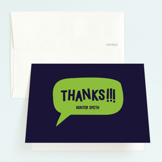 Roar Childrens Birthday Party Thank You Cards