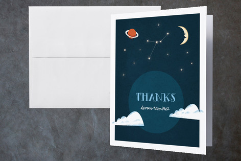 Camping Adventure Childrens Birthday Party Thank You Cards