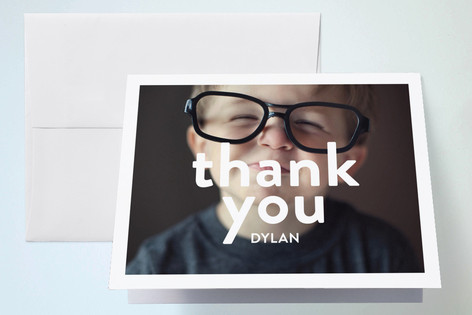 Big Time Childrens Birthday Party Thank You Cards