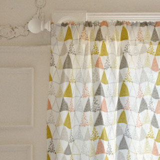 Oh So Triangular Curtains