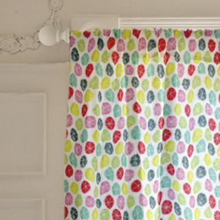 Stars In Circles Curtains