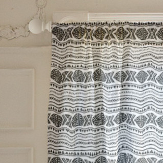 African Tribal Forest Curtains