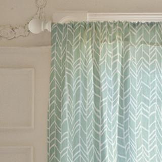 Reinvented Chevron Curtains