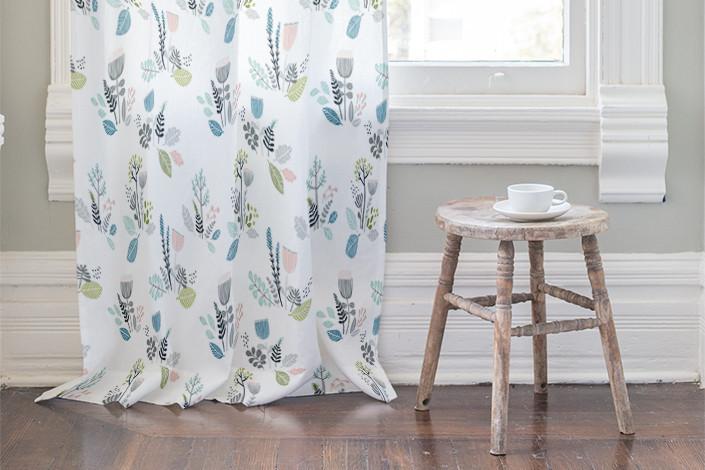 Little Mint Curtains