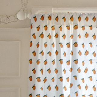 Fruits - sweet orange twins Curtains