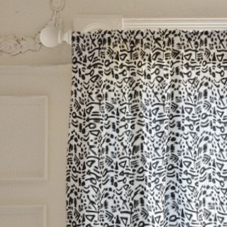 Tribal Tattoo Curtains