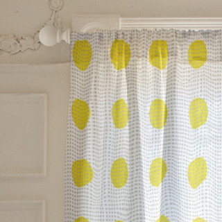 fun polka dot Curtains