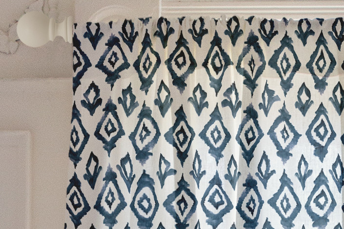 Moroccan Diamonds Curtain