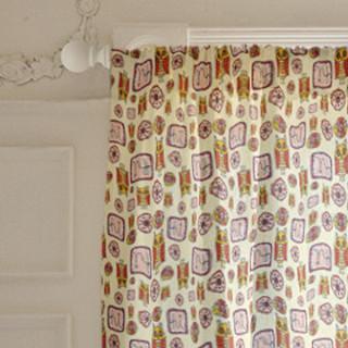 Hi Owl Doodles  Curtains