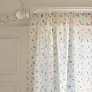 dreamy starfish Curtains
