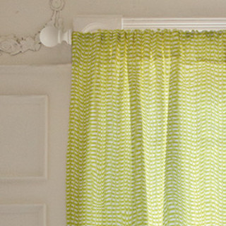 Half Dot Rows Curtains