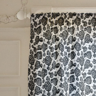 Tribal Rose Curtains