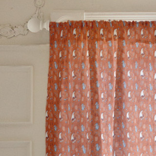 Woodland Foxes Curtains