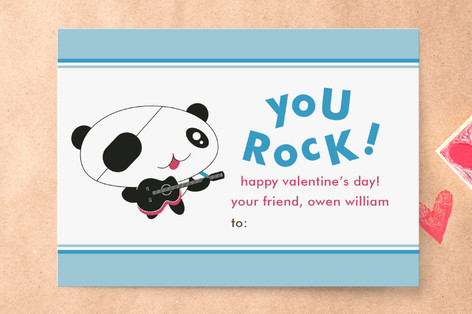 Rockers Classroom Valentine's Day Cards