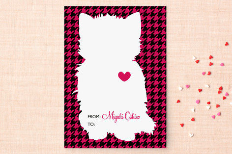 Mod Cat Classroom Valentine's Cards