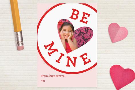 Be Mine Classroom Valentine's Cards