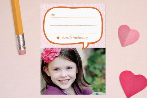 Hand-drawn Heart Classroom Valentine's Cards